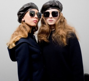 french dior babes berets