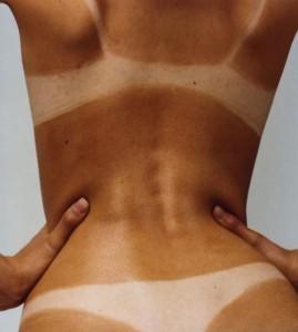 model tan beach babe