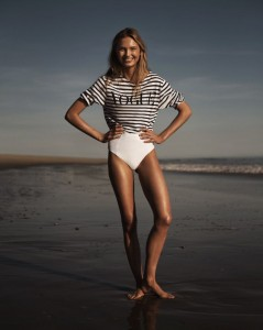 vogue beach model angel