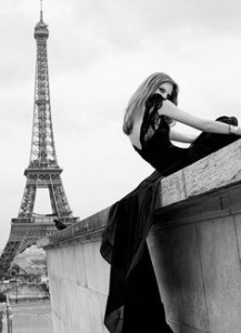 Paris Black White
