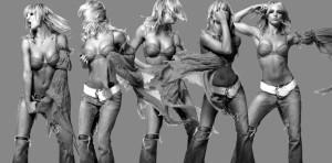 Britney Multiple Shot
