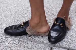 Fur Gucci Shoes