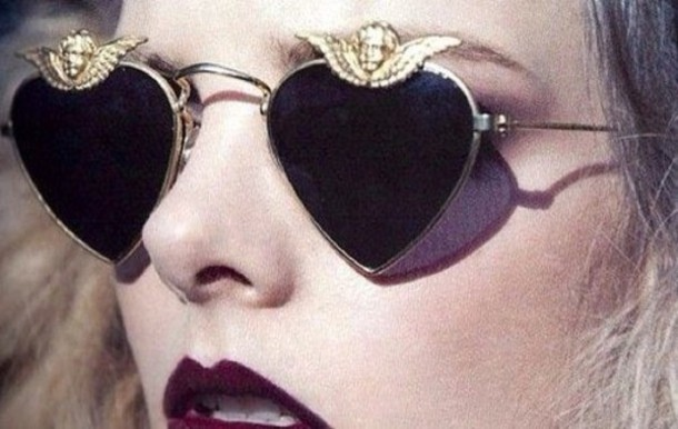 Heart Sunglasses.CurrentlyObsessed