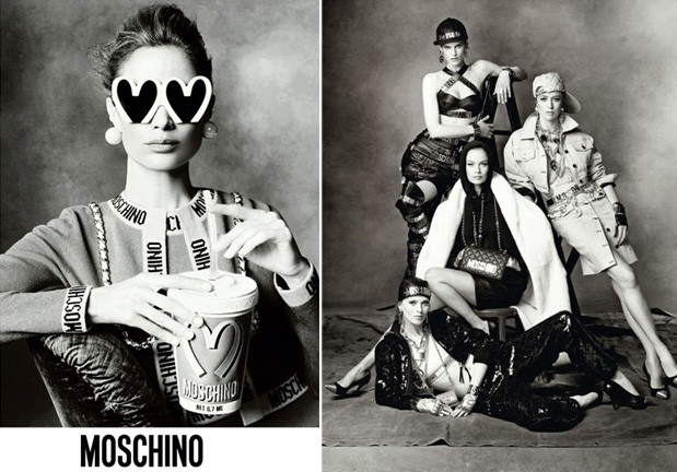 Jeremy Scott for Moscino Campaign