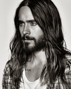 Jared Leto B and w