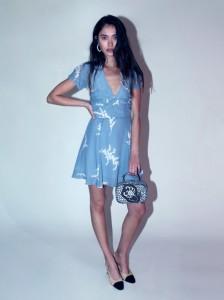 luella blue dress