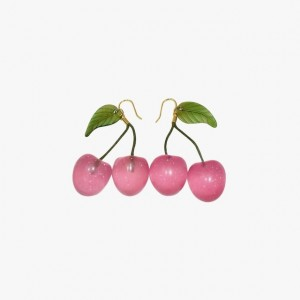 cherry earrings summer fashion