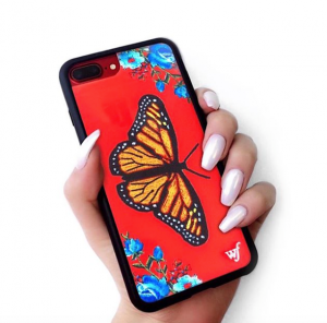 carlson butterfly red iPhone case