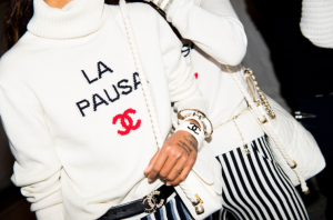 chanel resort backstage sweater