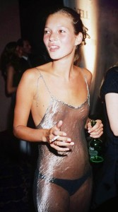 kate moss transparent dress