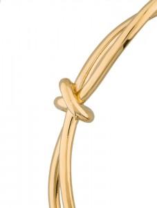 gold balenciage knot