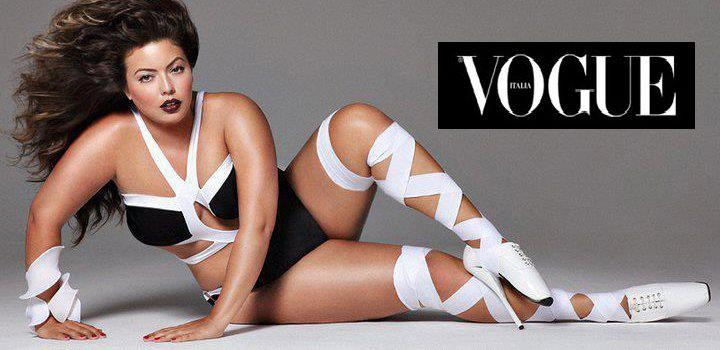 Vogue Italia taking a stand