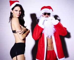 kendall jenner lingerie love advent