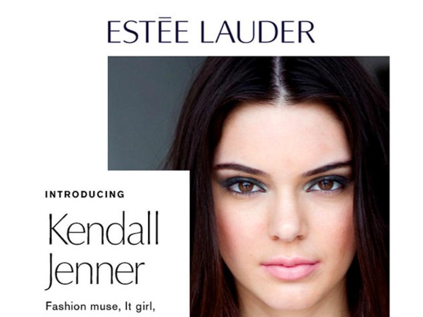 Kendall Jenner Estee Lauder2