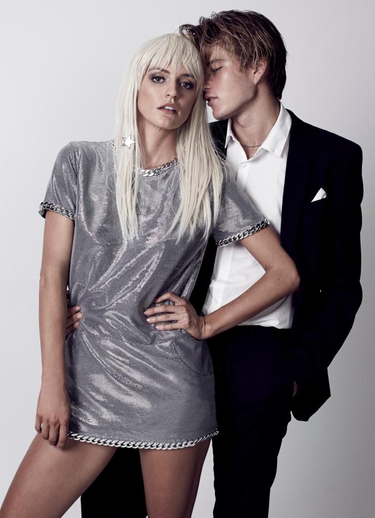 Luci Taffs - Jordan Barret - Wicked Game - Silver Dress