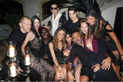 Givenchy Model Party