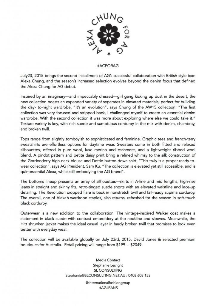 Alexa Chung for AG Press Release  copy