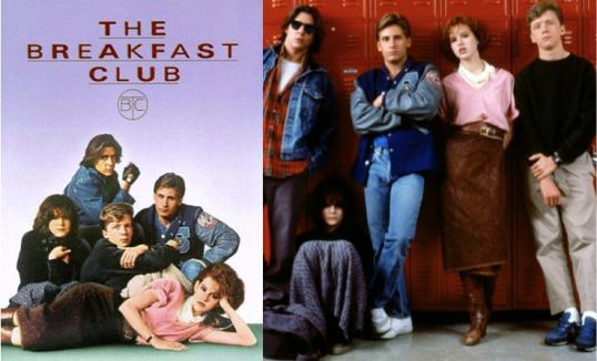 10 iconic fashion films - the breakfast club