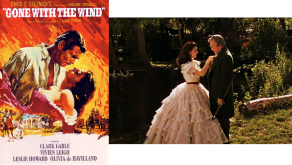 10 iconic fashion films - gone with the wind