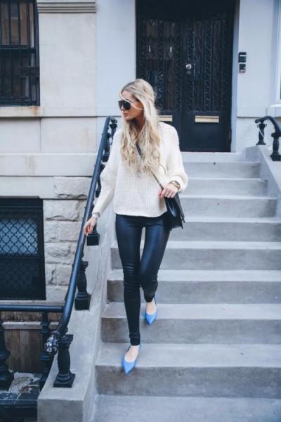 barefoot blonde bright flats
