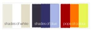 colour shades