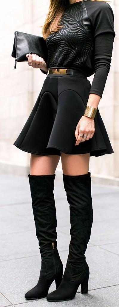 black skirt1
