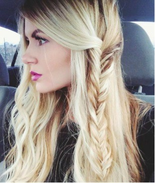 side fish tail