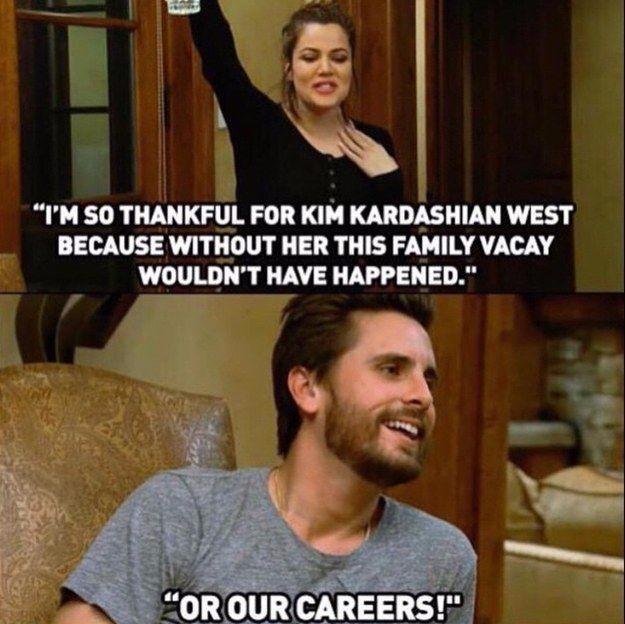 k is for kardashian