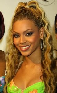 Beyonce ponytail