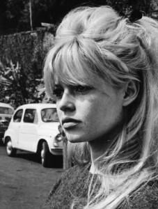 Brigitte bardot ponytail