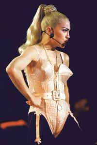 Madonna ponytail