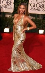 Gold Bey Dress Globes