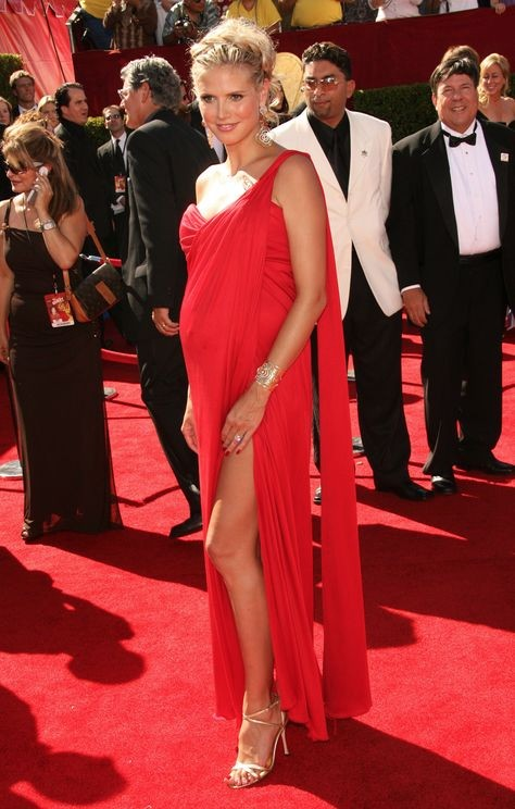 model mum, heidi klum pregnant
