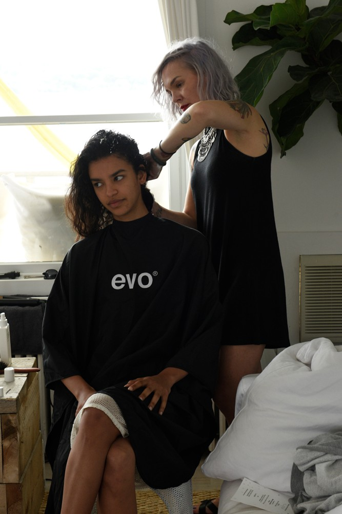 evo hair, surf ball, montauk