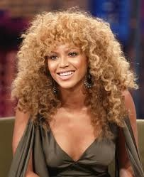 Crazy curly hair Beyonce
