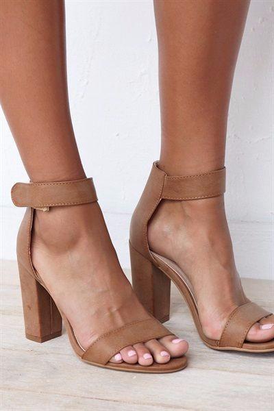 tan shoes, tan heels, comfy heels