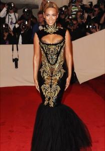 Mermaid gown bey