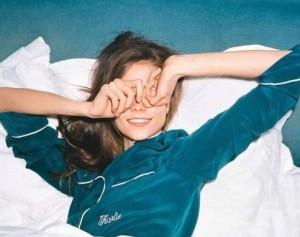 model green bed shoot