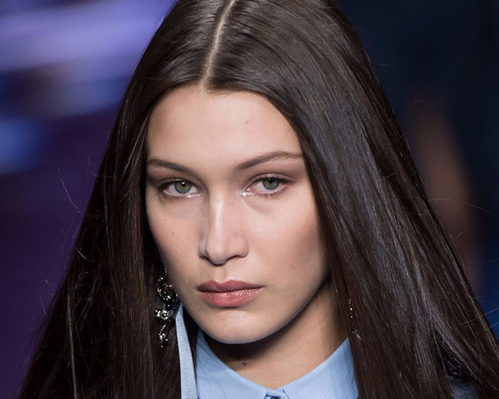 versace fashion week beauty