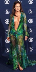 jennifer lopez style, 42nd Grammy awards, versace