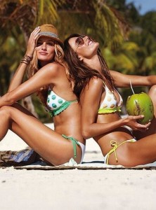 coconut water, model secret, model tips