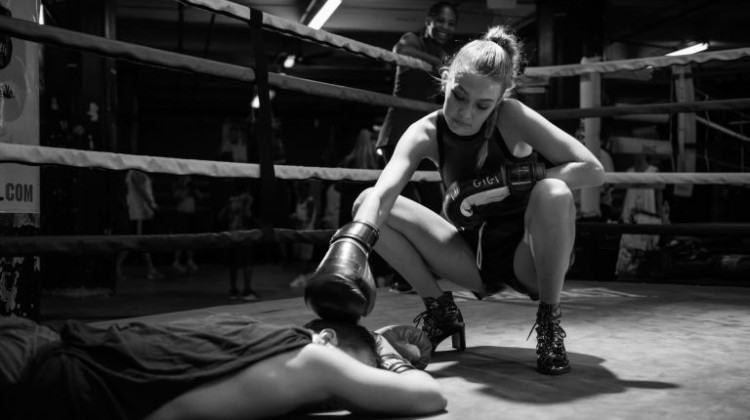 kickboxing shoe film
