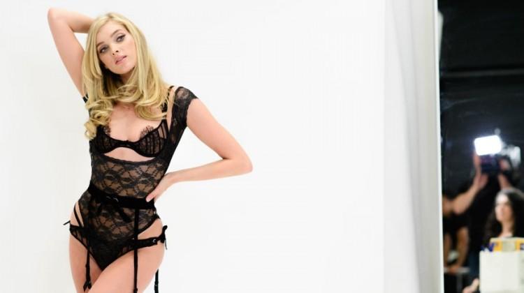lingerie fashion show 2016 black