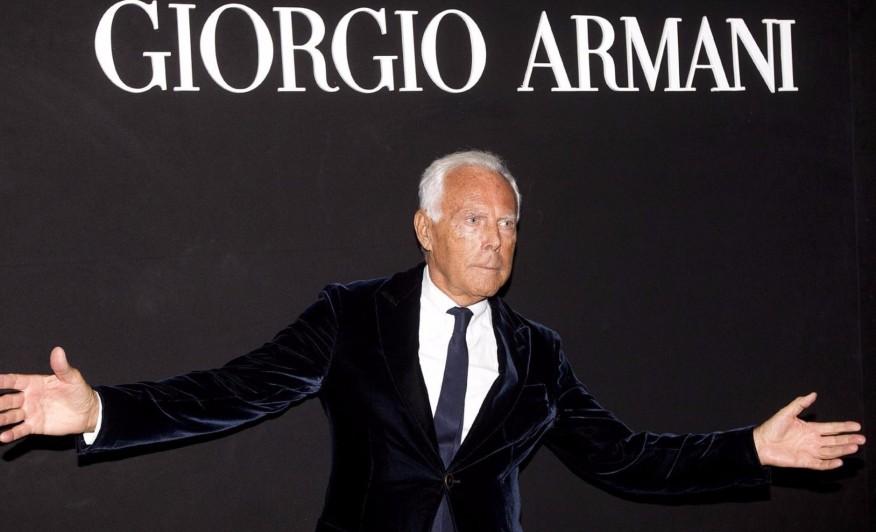 giorgio armani designer