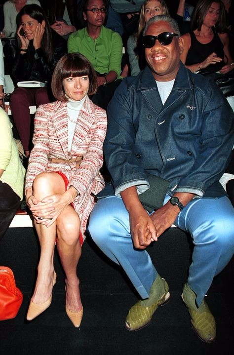 André Leon Talley, amfam, all my friends are models, anna wintour,