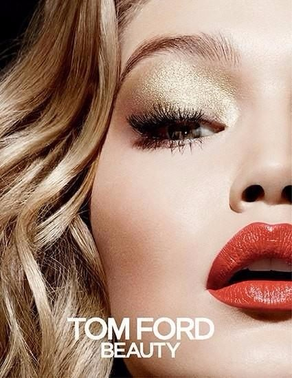 gigi hadid tom ford, tom ford beauty, gigi beauty, gigi weight