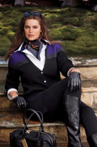 robyn lawly ralph lauren campaign, plus size model, how to be a model