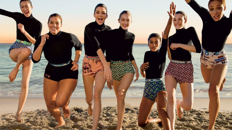 women rule vogue cover, kendall jenner vogue cover, diversity in fashion