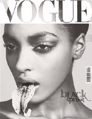 jourdan dunn, vogue cover jourdann dunn