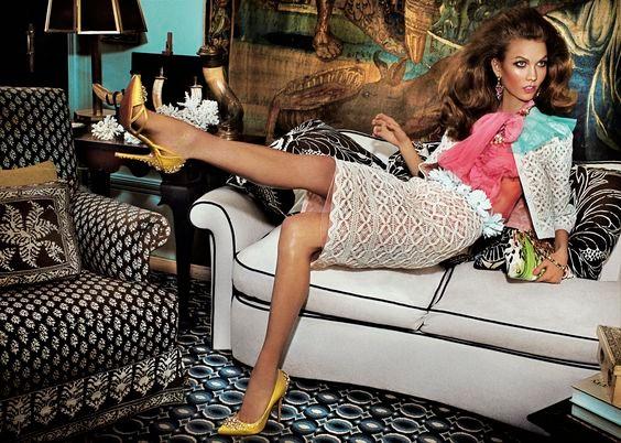 how to be a stylist, model off duty, karlie kloss editorial, karlie kloss